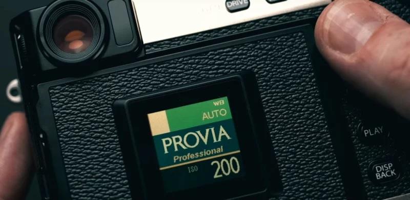 Задний вспомогательный экран Fujifilm X-Pro 3