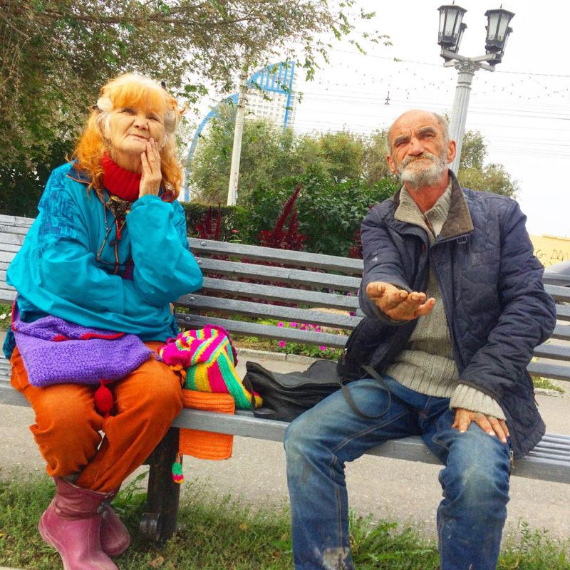 Фотосъемка бездомных