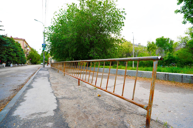аварийное состояние улицы 10-й Дивизии НКВД, Волгоград