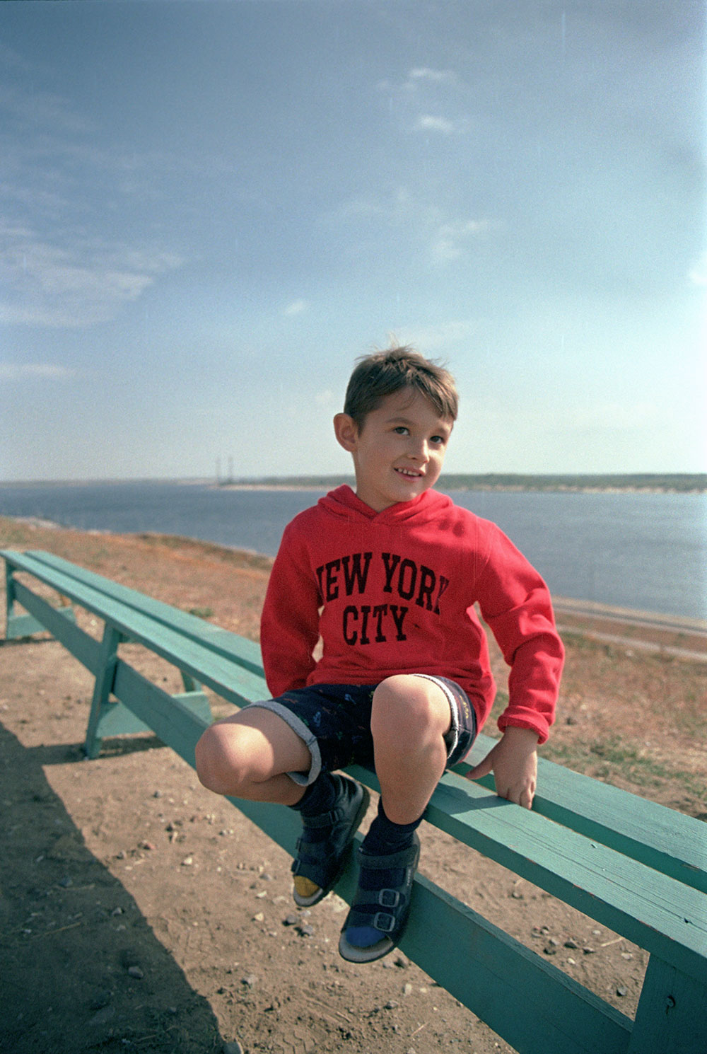 Пример фото на пленку Kodak Pro Image 100 без обработки