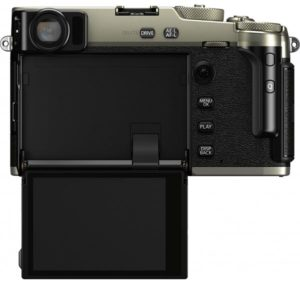 Поворотный экран Fujifilm X-Pro 3