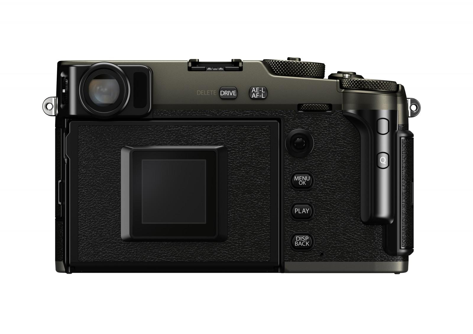 Задняя поверхность Fujifilm X-Pro 3
